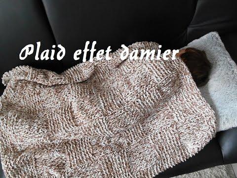 Tricoter une couverture b b plaid doovi - Tricoter un plaid debutant ...