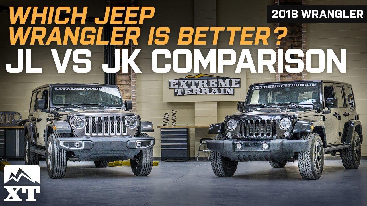 Jeep wrangler jl vs jk official comparison  review also rh youtube