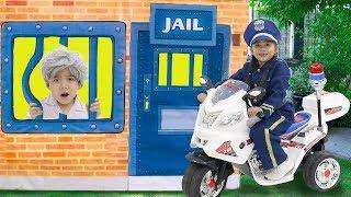 Suri Pretend Play Police Kids Adventure