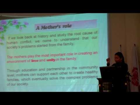 WFWP Philippines: Mothers' Hearts Network Vision 2020 by Merly Barrete Barlaan