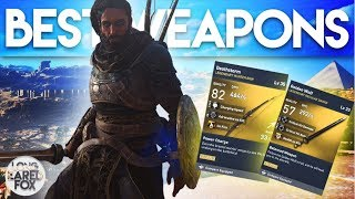 Assassin's Creed Origins | PHYLAKE BOSS WEAPONS SHOWCASE - Legendary Weapons From Phylakes