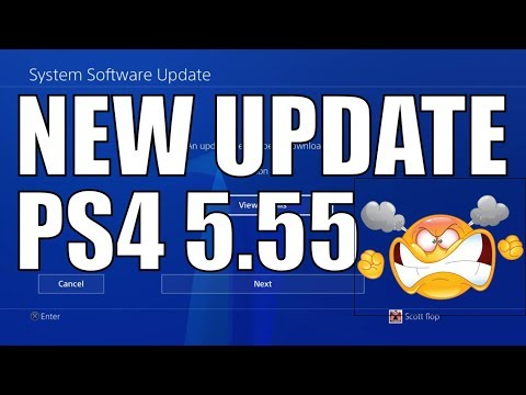 PS4 5.55 System Software UPDATE DETAILS