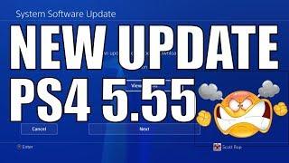 PS4 5.55 System Software UPDATE DETAILS