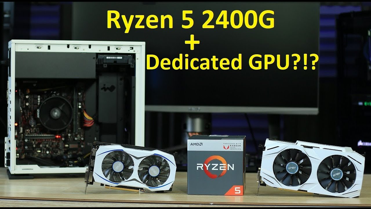 Ryzen 5 2400G + A DEDICATED GPU?!?!?