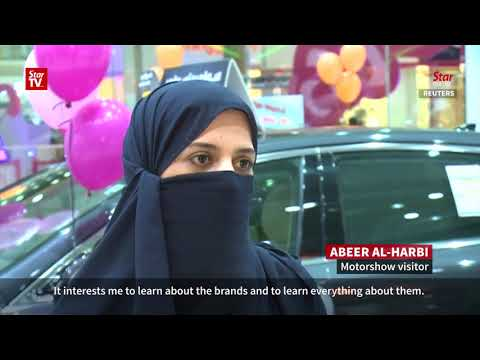 Saudi Arabia holds first women-only car show