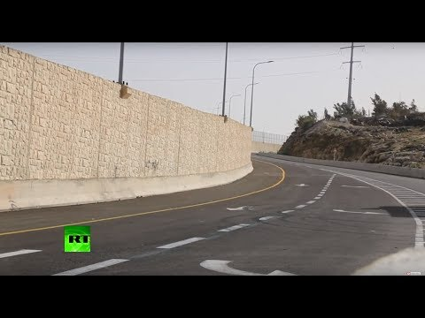 'Wall of apartheid': Israel opens a segregated road in the West Bank