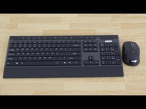 Anker Wireless Keyboard and Mouse 2-in-1 Combo Unboxing and First Look