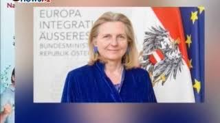 अस्ट्रियाकी विदेशमन्त्रीको नेपाल भ्रमण - NEWS24 TV
