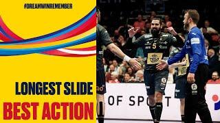 Longest slide of the tournament | Men's EHF EURO 2020