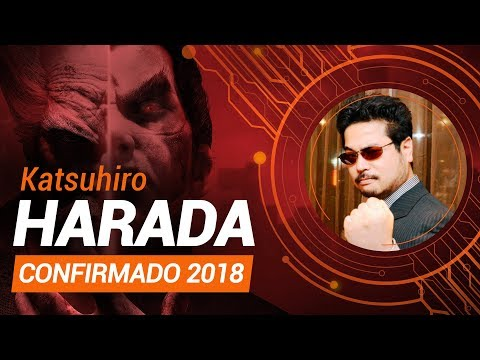 KATSUHIRO HARADA ESTÁ CONFIRMADO NA #BGS2018!