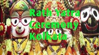45th Kolkata Rath Yatra Ceremony