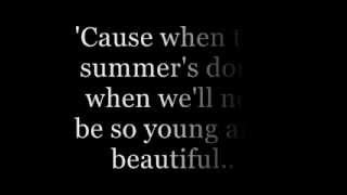 Carrie Underwood - Young and Beautiful [Lyrics]