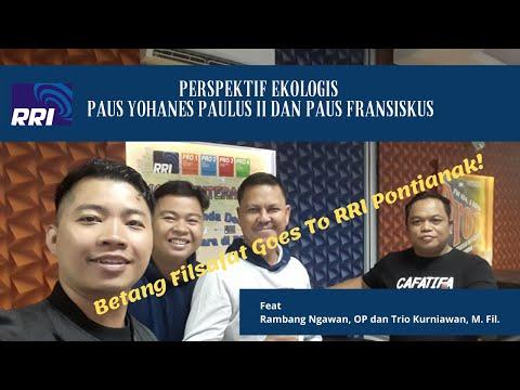 PERSPEKTIF EKOLOGIS FILSAFAT PERSONALISME DAN ENSIKLIK LAUDATO SI feat Rambang Ngawan, OP