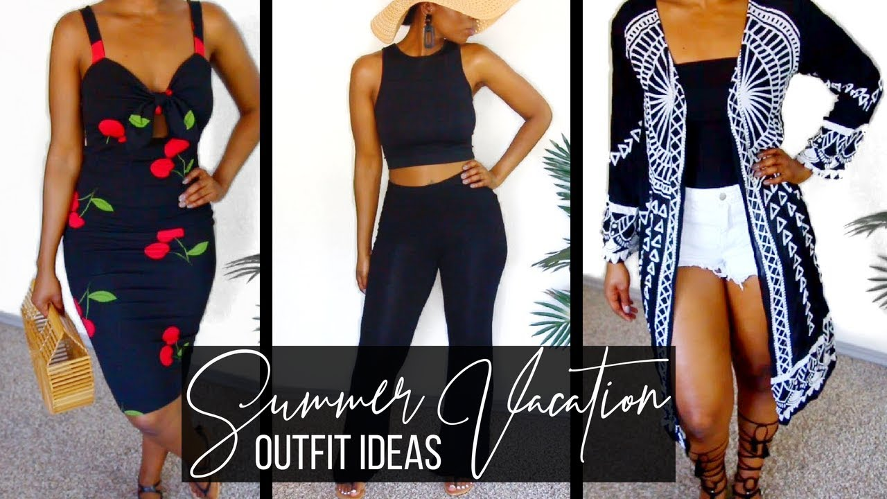 SUMMER VACATION OUTFIT IDEAS | CASUAL SUMMER OUTFITS | SUMMER LOOKBOOK 2