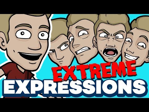 How to Draw EXTREME EXPRESSIONS - Amplify your Emotions!
