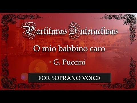 O mio babbino caro - G. Puccini (Karaoke - Original Key: A-flat major)
