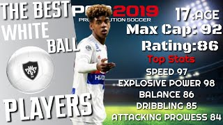The Best WHITE Ball Players | Pes2019