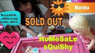 Homesale squishy marsha n baby alive