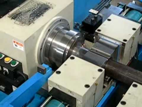 Friction Welding Machine for Pipes - YouTube