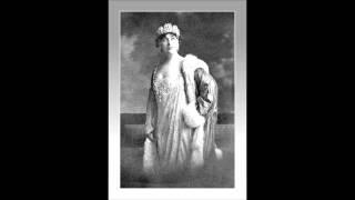 """Soprano GERALDINE FARRAR - Tosca -  """"Ora stammi a sentir...""""   (1911)"""