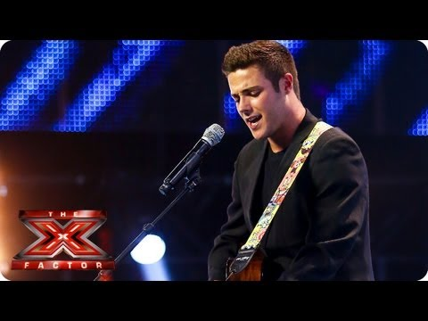 Barclay Beales sings What Makes You Beautiful | Arena Auditions Week 2 -- The X Factor 2013