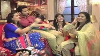 FUN and Masti From the sets of Kassam Tere Pyaar Ki..