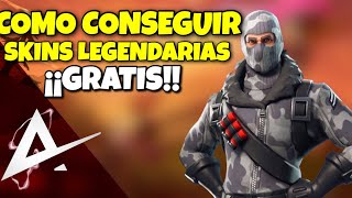 HOW TO GET LEGENDARY SKIN FREE!!! | FORTNITE BATTLE ROYALE