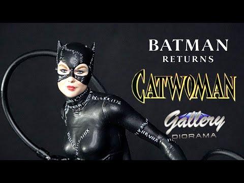 Batman returns Catwoman PVC Figure Diamond Select Toys DC Galerie