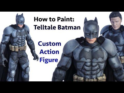 How to Paint - a Telltale Batman Custom Action Figure