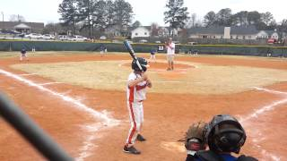 Walk off home run over the fence.   7 years old.