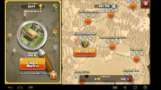 clash of clans single player maps 5- 9