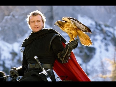 Ladyhawke 1985 with Rutger Hauer, Michelle Pfeiffer, Matthew Broderick movie