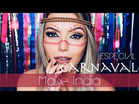 Maquiagem de fada pro Carnaval/festivais/etc | Doovi