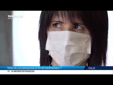 Coronavirus en Italie: convalescence à l'hôtel