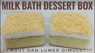 Milk bath dessert box