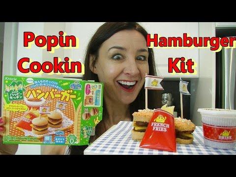 Popin Cookin Hamburger TasteTest