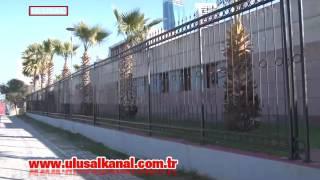İzmir Adliyesi demir parmaklıklarla çevrildi