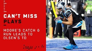 Video D.J. Moore's Huge Catch & Run Leads to Greg Olsen's TD Grab download MP3, 3GP, MP4, WEBM, AVI, FLV November 2018