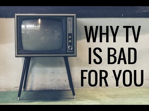 why watching tv is bad Why tv, videogames, anime, cartoons, arts, are dark crystal arts, they are unholy, and all emit frequencies to manipulate ungodly.