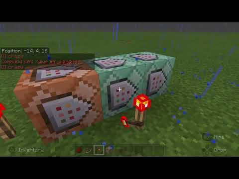 Minecraft Bedrock Basic Command Block Tutorial