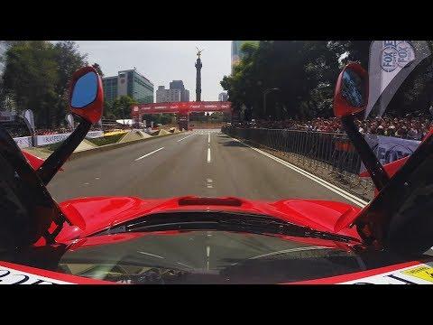 GoPro en un LaFerrari sobre Paseo de la Reforma