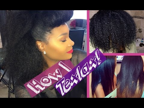 Applying Texturizer On Wet Natural Hair