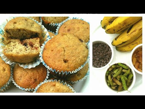 Banana Mulberry Muffins recipe. How to make Banana Mulberry Muffins.