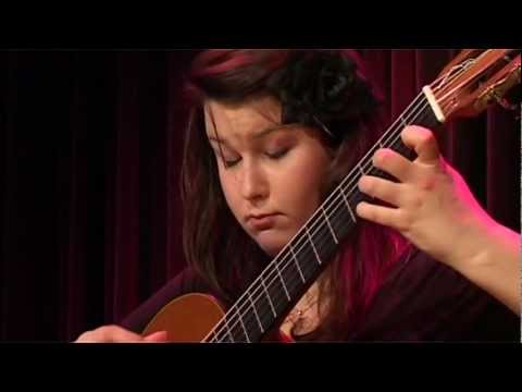 Sabrina Vlaskalic Concert Gitaarsalon in Enkhuizen, Holland