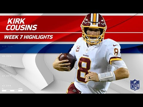 Kirk Cousins Tosses 303 Yards & 3 TDs vs. Philly! | Redskins vs. Eagles | Wk 7 Player Highlights