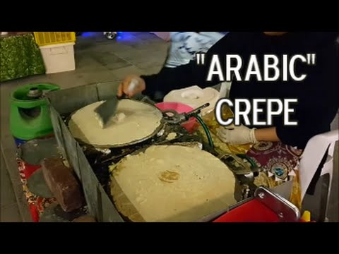 """Out & About Qatar: Souq Waqif's """"Arabic"""" Crepe"""