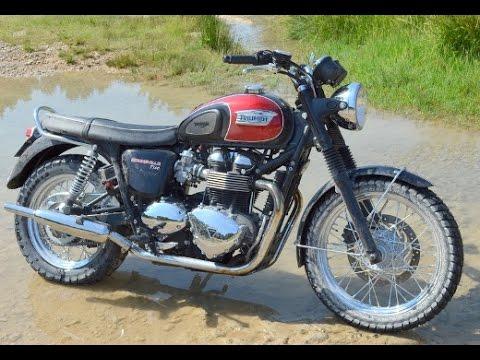 Triumph Bonneville T100 Off Road Youtube