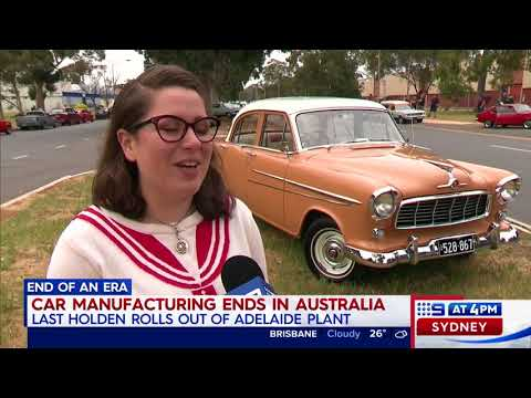 GM Holden Factory's Final Day 20/10/2017