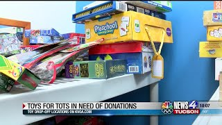 Toys for Tots in need of donations for toy drive