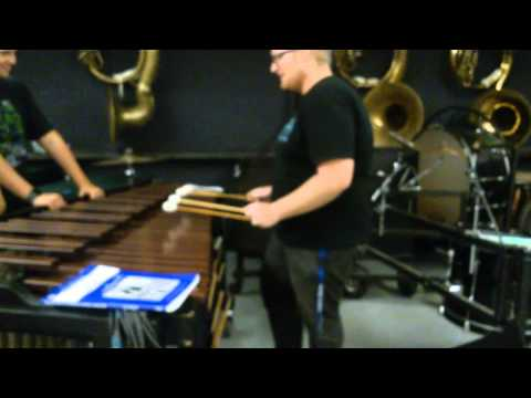 Apple iPhone ringtone on the Marimba